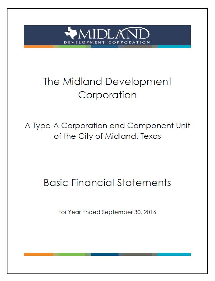 Thumbnail Image For 2016 City Financial Audit - Click Here To See