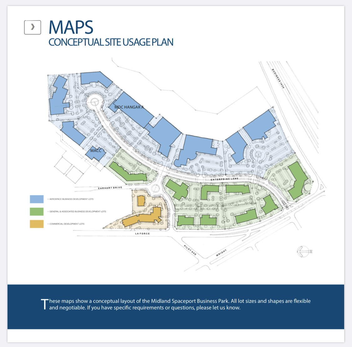 site usage plan map